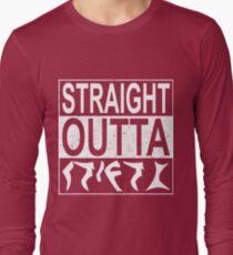Straight Outta Qo´noS Long Sleeve T-Shirt