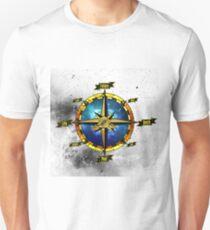 Gold compass 1 Unisex T-Shirt