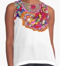 Textile Candy Contrast Tank