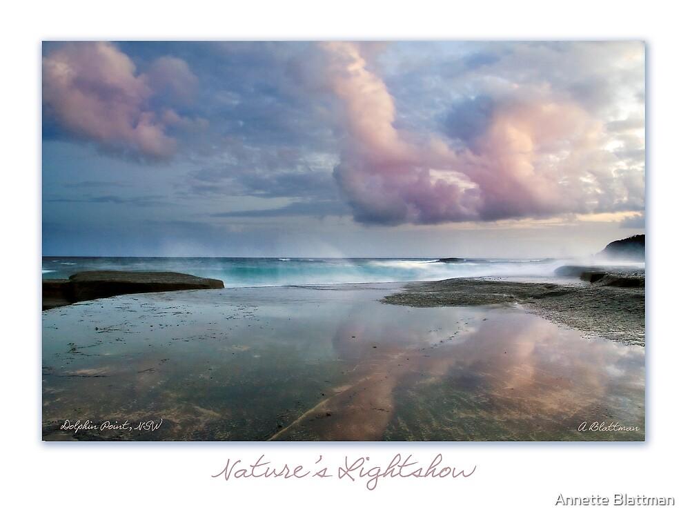Nature's Lightshow Card by Annette Blattman