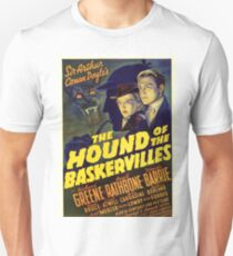 Sherlock Holmes Hound of the Baskervilles movie poster Unisex T-Shirt