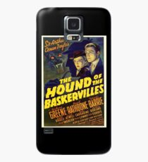 Sherlock Holmes Hound of the Baskervilles movie poster Case/Skin for Samsung Galaxy