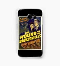 Sherlock Holmes Hound of the Baskervilles movie poster Samsung Galaxy Case/Skin