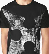 Kingdom Hearts Roxas' Cross grunge Graphic T-Shirt
