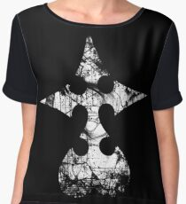 Kingdom Hearts Nobody grunge Women's Chiffon Top