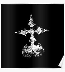 Kingdom Hearts Nobody grunge Poster
