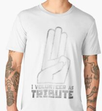 I Volunteer As Tribute Men's Premium T-Shirt