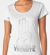 I Volunteer As Tribute Women's Premium T-Shirt