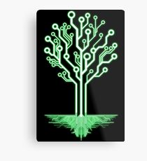 Tree of Technological Knowledge Metal Print