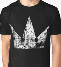 Kingdom Hearts Crown grunge Graphic T-Shirt