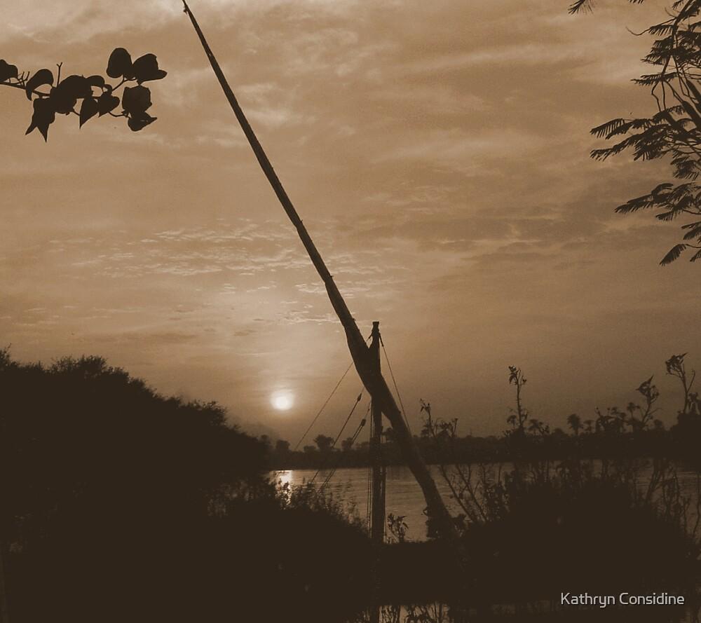 The river nile. by Kathryn Considine