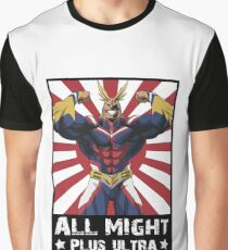 ALL MIGHT! PLUS ULTRA! Graphic T-Shirt