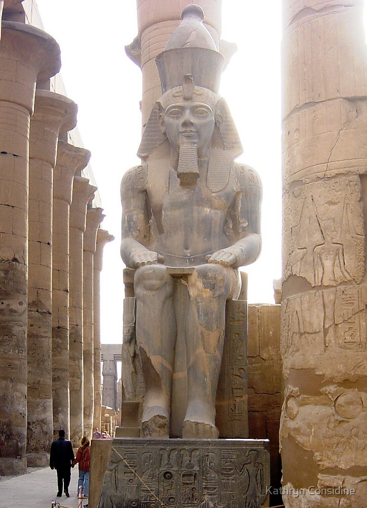 The Fantastic Luxor Temple by Kathryn Considine