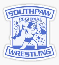 Southpaw Regional Wrestling Blue Sticker