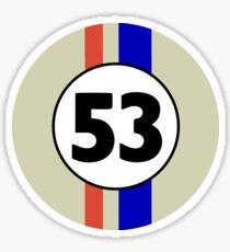 Herbie No. 53 Sticker