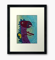 Dragon : Funny creature Series Framed Print