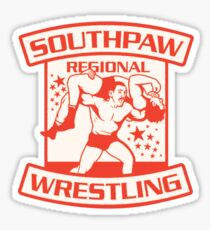 Southpaw Regional Wrestling Sticker