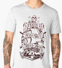 A Smooth Sea Never Makes A Skilled Sailor Men's Premium T-Shirt