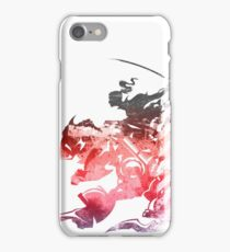 Final Fantasy VI logo grunge iPhone Case/Skin