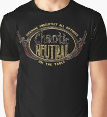 Chaotic Neutral Tee Graphic T-Shirt