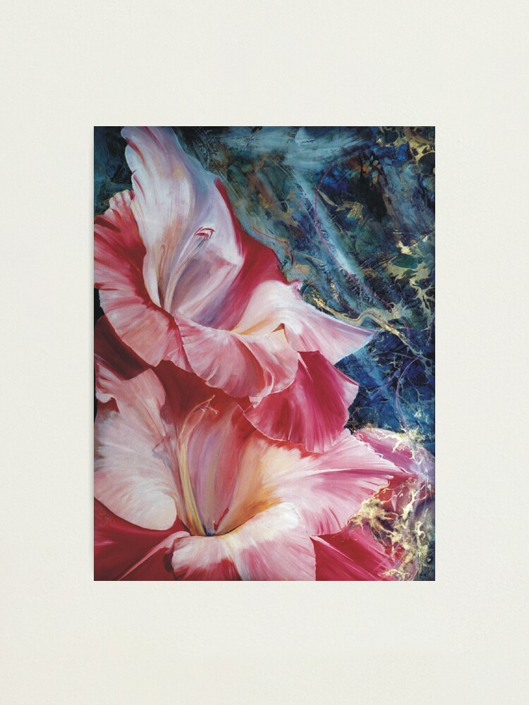 Alternate view of Gladiola Photographic Print