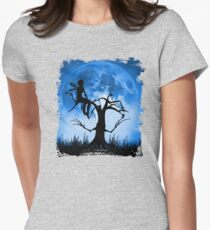 Moonlight Wondering Fairy Womens Fitted T-Shirt