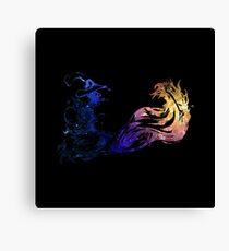Final Fantasy X logo universe Canvas Print