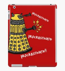 Procrastinate! iPad Case/Skin