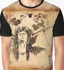 Final Fantasy II Ukiyo-e Graphic T-Shirt