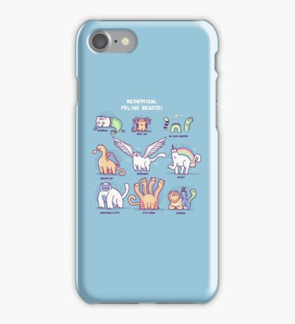 Meothical beasts  iPhone Case/Skin