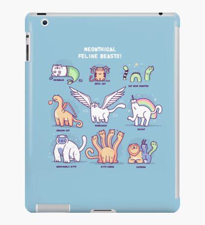 Meothical beasts  iPad Case/Skin
