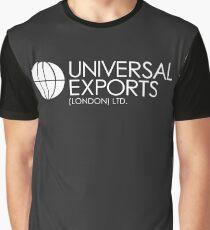 James Bond - Universal Exports (London) Ltd Graphic T-Shirt