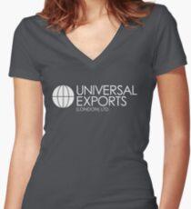 Camiseta entallada de cuello en V James Bond - Universal Exports (London) Ltd