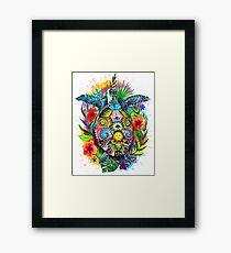 Hang Loose Turtle Framed Print