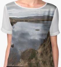 Donegal lake Chiffon Top