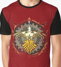 Suzaku Flame Graphic T-Shirt