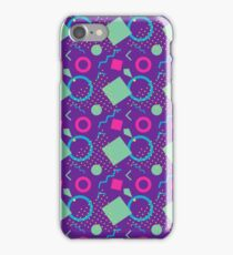 Colorful geometric patterns iPhone Case/Skin