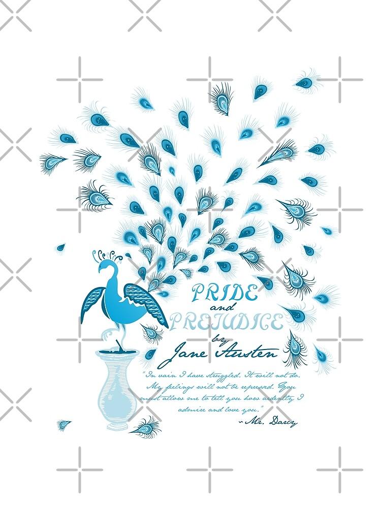 Paisley Peacock Stolz und Vorurteil: Klassisch von DoodleHeadDee