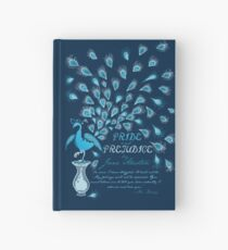 Paisley Peacock Pride and Prejudice: Classic Hardcover Journal