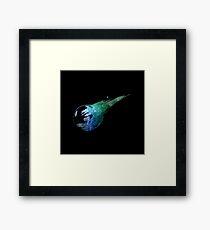 Final Fantasy VII logo universe Framed Print