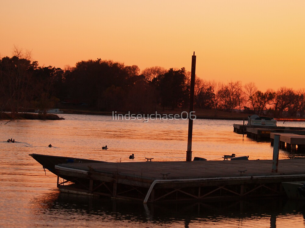Boat Dock by lindseychase06