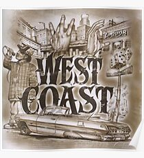 Westküste Poster