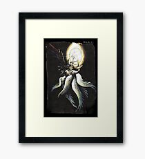 Safer Sephiroth vintage Framed Print