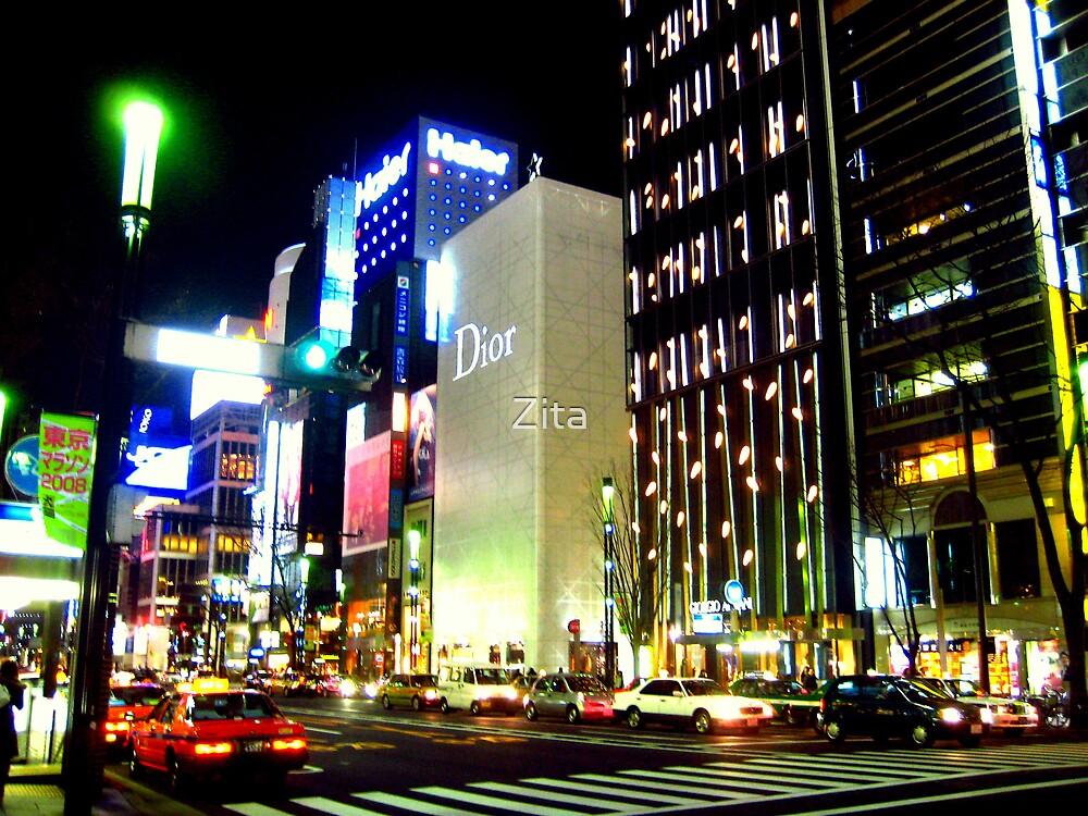 Tokyo by nite, Jan 2008 by Zita
