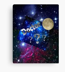 Space Aliens Doctor  Canvas Print