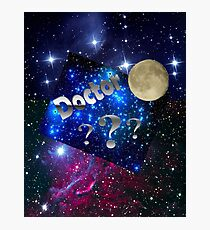 Space Aliens Doctor  Photographic Print