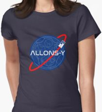 Allonsy Space Doctor Womens Fitted T-Shirt