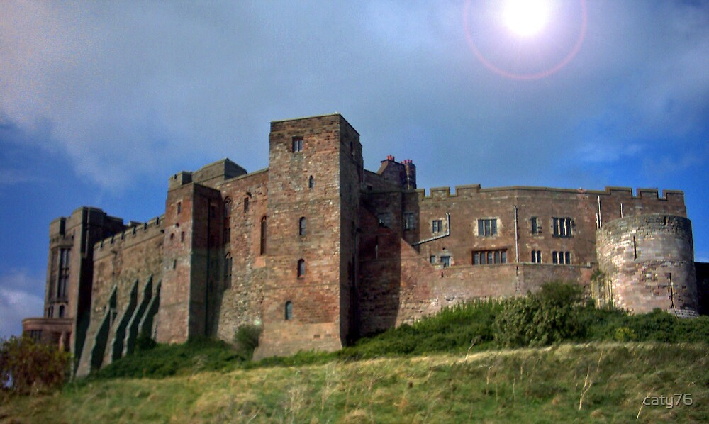 Bamburgh Castle, Northumberland by caty76