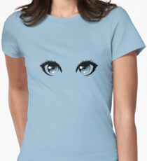 Eyes Women's Fitted T-Shirt