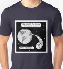 Halley's comet Unisex T-Shirt